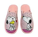 Zapatillas para Andar en casa Snoopy Mujer Color Rosa (Numeric_38)
