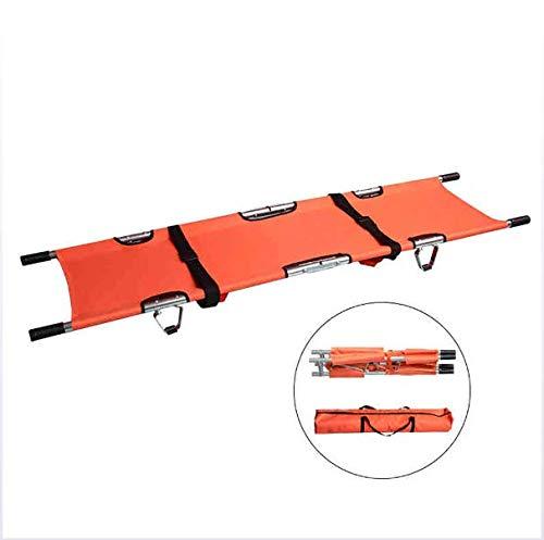 VBARV Camilla Plegable de Aluminio con/Asas y Estuche de Transporte para hospitales, clínicas, hogares,…