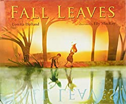 Fall leaf book for kids