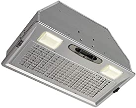 Broan-NuTone PM390 Power Pack Range Hood Insert Exhaust Fan and Light Combo for Over Kitchen Stove, 390 CFM, Silver