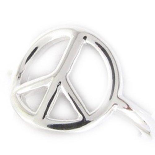 Les Trésors De Lily [J9422] - Ring silber 'Peace' .