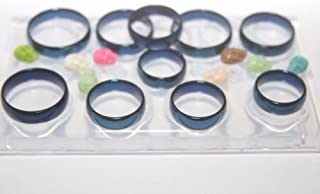 Make Epoxy Resin Rings with Our Clear Silicone Mold for Personal Jewelry - Make at Home Rings - Tutorial Included Sizes ; 5-6-7-8-9-10-11-12-13-14 (Z-31)