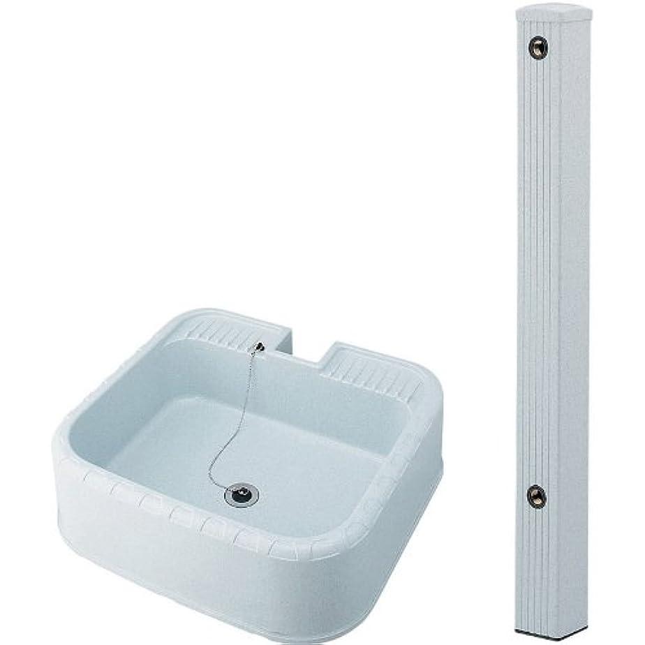 くぼみスピーカー歯科のKAKUDAI/カクダイ 624-071(水栓柱?80角) + 624-926(水栓柱パン) セット