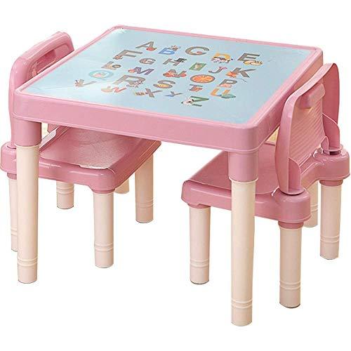 AJH Kids Schreibtisch und Stuhl Kindertisch und Stuhl Set Child Learning Desk Chair