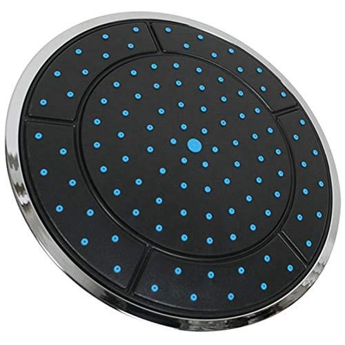 Duschkopf, 25 cm, Kunststoff, runde Form, Regendusche, Duschkabinen-Zubehör, 1 Stück
