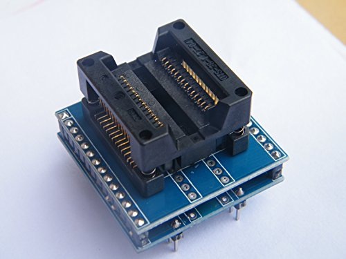 CEG Show Universal SOP28 SO28 SOIC28 SOP20 SOP16 to DIP28 Programming Socket Adapter Converter for 300mil IC Chips