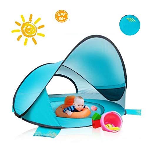XGYUII Baby Beach Tent Ultralight Pop Up Beach Shade Tent UPF 50+ UV Bescherming Zonwering Camping Tent voor kinderen en volwassenen