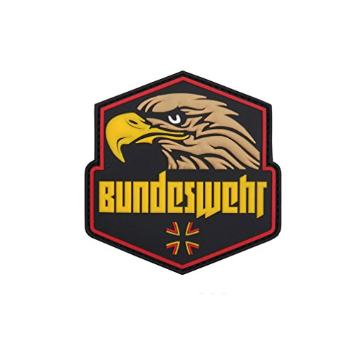 Bundeswehr Eagle KSK Airsoft Insert Badge Company Prepper Germany Coat of arms 8,5cm - 3D Rubber Patch