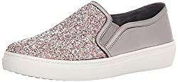 Pewter Goldie-Treasure Scattered Rhinestone Slip On Sneaker