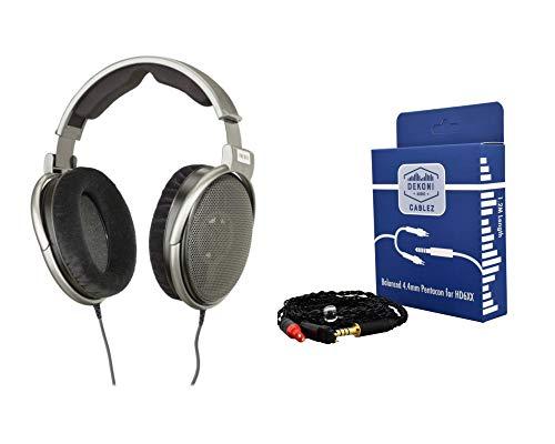 Digital DJ Gear Bundle for Sennheiser HD650 Headphones w/Dekoni Audio Balanced 4.4mm Pentacon Cable