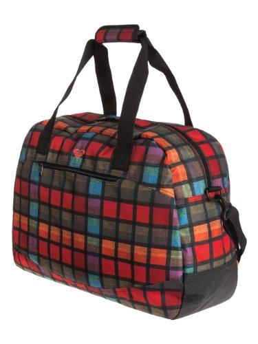 Roxy Bolsa de Viaje Reisetasche Too Far Plaid, 40 cm, Multicolor – h Coral AX Prim, WTWBA1091-MKZ1