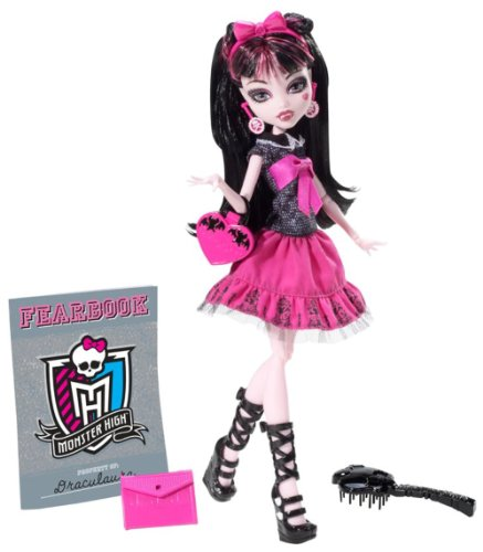 Monster High Bild Tag Draculaura Puppe
