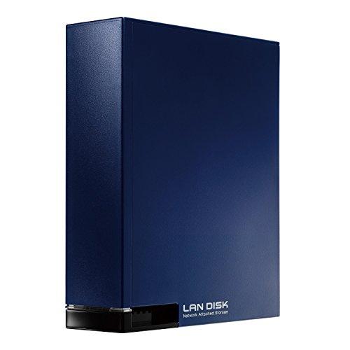 I-O DATA NAS 2TB スマホ/タブレット対応 ネットワークハードディスク 入門モデル HDL-T2NV 1年保証付き ミ...