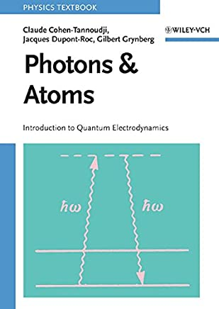 Photons and Atoms: Introduction to Quantum Electrodynamics
