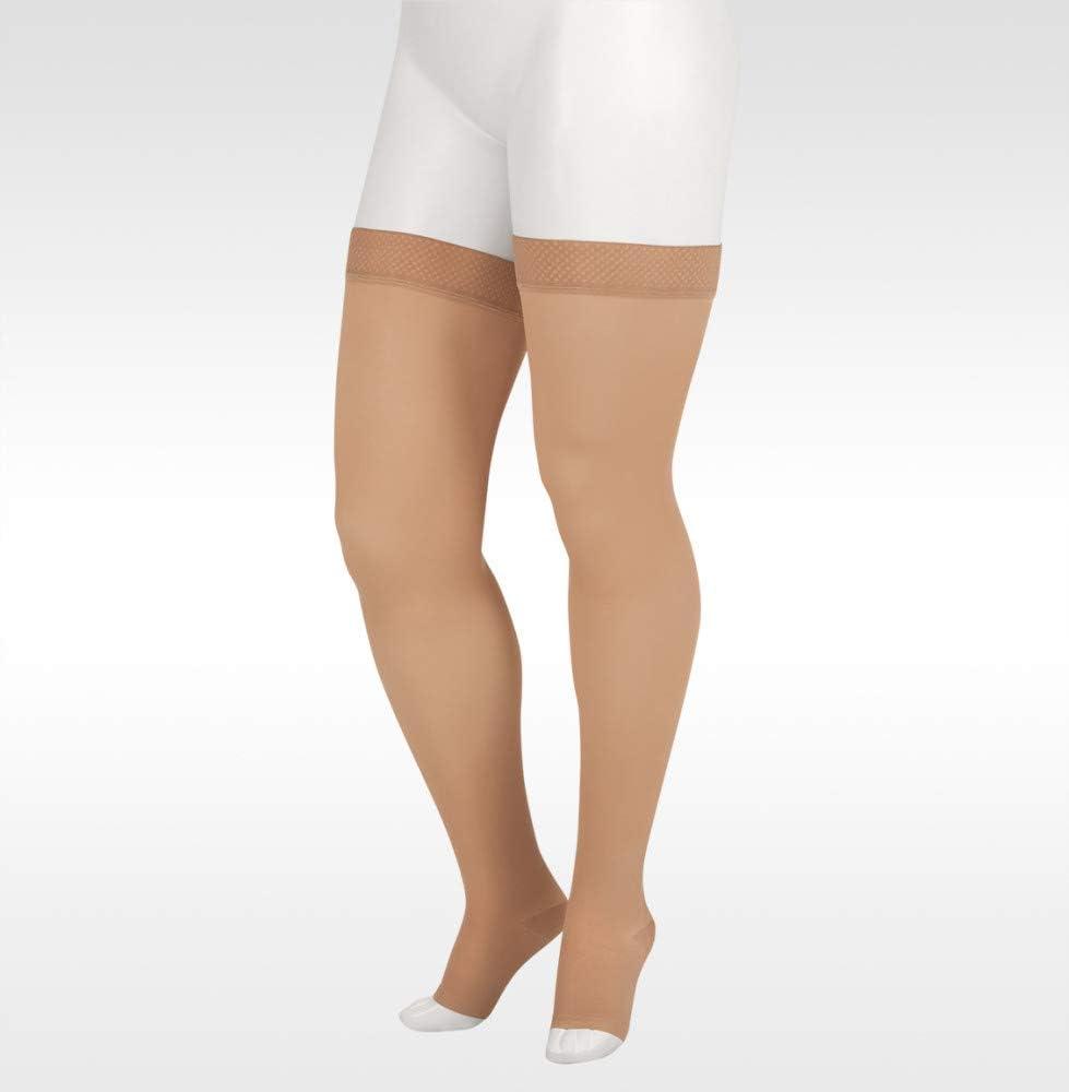 Juzo Soft 2002 Thigh-High 30-40mmhg All items free shipping Open Toe Compression Stockin supreme