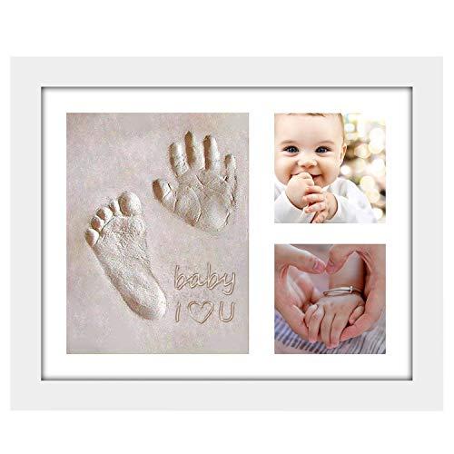 Onewall - Marco de Fotos para bebé, diseño de Mano y Huella