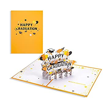 Pop Up Graduation Cards 2021 Hollow Owl Graduation Cap Happy Graduation Cards 3D Greeting Pop Up Cards with Envelope For College University High School