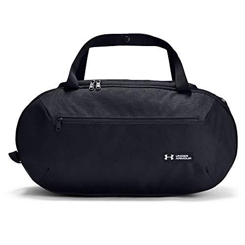 Under Armour Herren Roland Mittelgroßer Seesack vielseitige und robuste Sporttasche für Männer, Duffel Bag mit praktischen Fächern, Schwarz (Black), Einheitsgröße