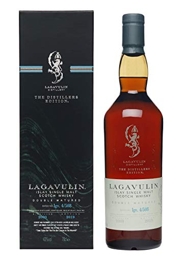 Lagavulin Distillers Edition 2018, 16 años whisky de malta simple (1 x 0.7 l)