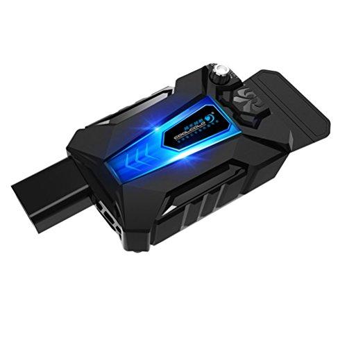 LEDMOMO Mini universal Laptop Enfriador USB ventilador aire enfriador velocidad ajustable portátil enfriador