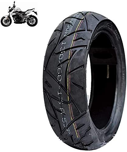 Neumáticos de scooter eléctrico Ruedas duraderas, 130 / 60-13 Neumático de vacío antideslizante, Resistencia a la abrasión 6pr, Resistencia a los pinchazos, Bajo nivel de ruido, Apto para motocicleta