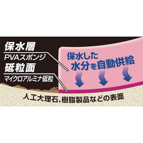 アイオン 保水研磨パッド人工大理石 樹脂用粗目 783-P