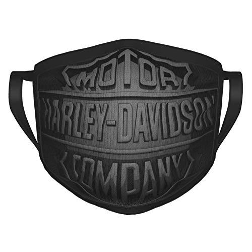 Harley Davidson - Maschere di sicurezza, lavabili e riutilizzabili, protezione da polvere, polline e peli di animali domestici