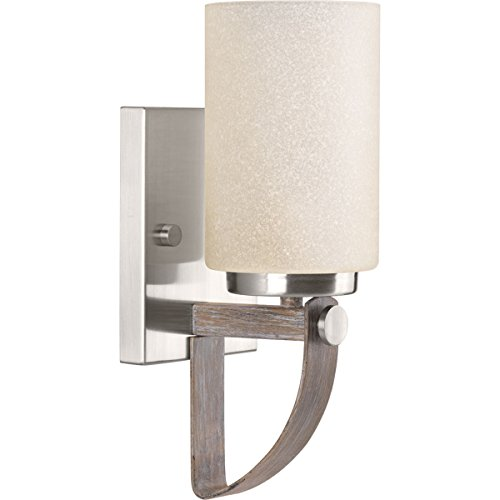 Progress Lighting P710008-009 Aspen Creek One-Light Wall Sconce, Black