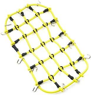 Yeah Racing 1/10 RC Crawler Scale Accessory Luggage Net 200mm x 110mm Yellow YA-0560YW