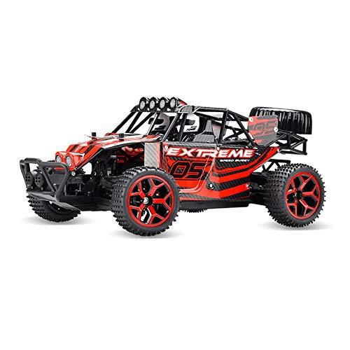AIOJY Vehículos de control remoto Vehículos de carreras de alta velocidad de 2,4 Ghz Carritos de tracción eléctrica Coche de escalada Adecuado para niños Juguete adulto Mini automóvil todoterreno 1:18