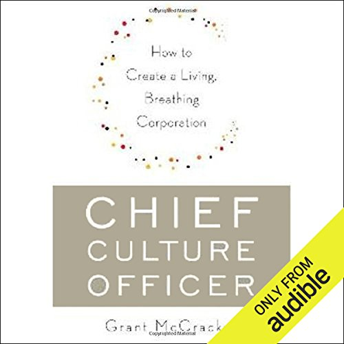 Chief Culture Officer audiobook cover art