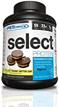 PEScience Select Low Carb Protein Powder, Chocolate Peanut Butter Cup, 55 Serving, Keto Friendly and Gluten Free