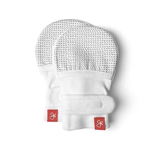 Jungle Print//Grey Stripe Handsocks Plush Mittens Newton XS 0-3 Months. Bicep Size Should be 3.5-5.5