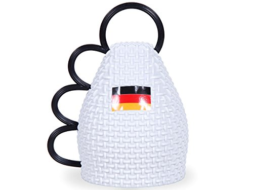 Alsino, fanartikelen, fanartikelen, voetbal, EK WK hoed, bril, pruik, vlag wit