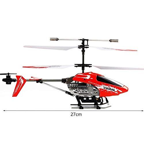 Spielzeugmodell Niedriggeschwindigkeits-Mehrfachschutzdrohne für Kinder Intelligentes Spielzeug- und RC-Hubschrauberflugzeug mit 3,5-Kanal, größerem ferngesteuertem Hubschrauberflugzeug Robuster Legi