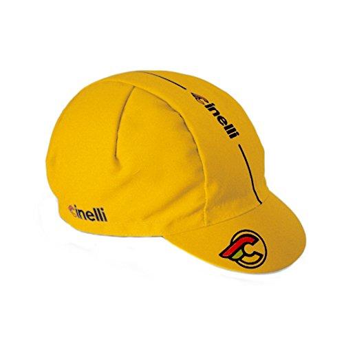 Cinelli Bonnet Super Corsa Taille Unique Yellow