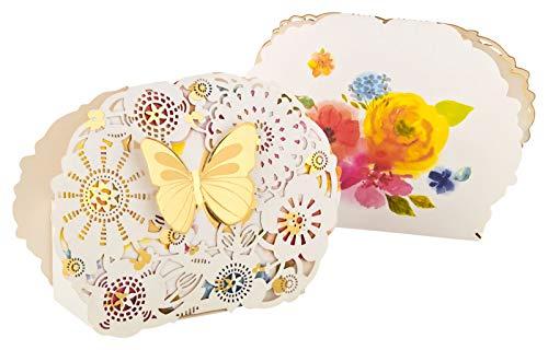Kleenes Traumhandel 30 scatole regalo colorate farfalla come bomboniera o pensierino