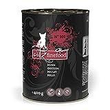 catz finefood Purrrr Huhn Monoprotein Katzenfutter nass N° 103, für ernährungssensible Katzen, 70% Fleischanteil, 6 x 400g Dose
