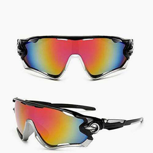 Lovearn Polarisierte Sonnenbrille für Herren und Damen, UV Schutz, Leichter Unzerbrechlicher Rahmen, zum Radfahren Skifahren Autofahren Fischen Laufen Wandern Sport, mit Etui und Brillenbänder (E)