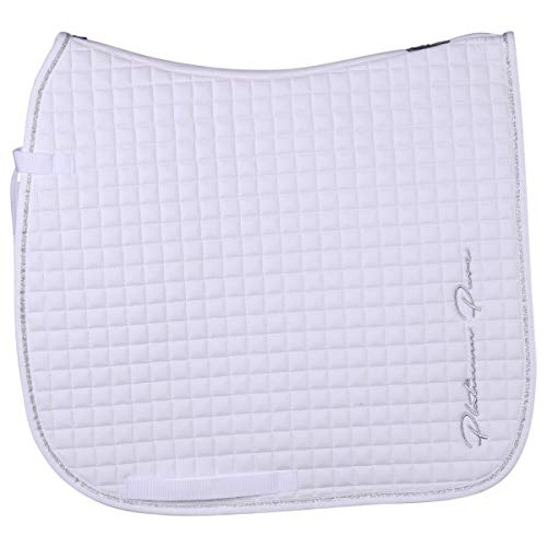Eskadron Saddle Cloth Cotton Platinum Pure - Size DR Full