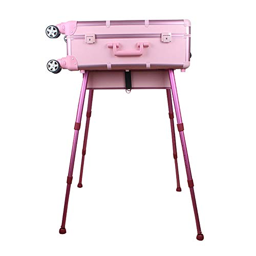 Chariot Maquilleurs Maquillage Case Alutrolley Beauté Maquillage Table/Holleywood Miroir/éclairage Los Angeles Maquillage Beauty Case