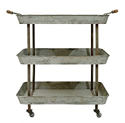 Your husband will love this tin serving cart for your traditional 10th anniversary gift