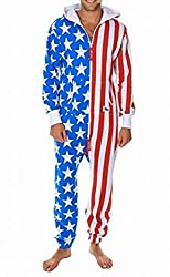 American Flag Jumpsuit - Comfy USA Clothing