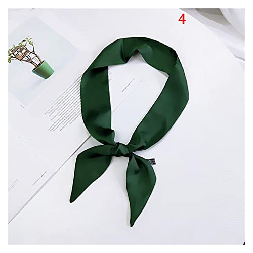 YSJJPQC Cuerda de Pelo Satin DIY Imprimir Pequeña Bufanda Mujer Manillar Bolsas Bufanda Estrecha Muñeca Larga Pequeña Cinta Moda Banda de Pelo (Color : 60 (90x5cm))