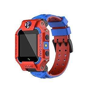 SFBBBO kids watches GPS Kids Watch Smart GPS Watches Camera Flashlight SOS Call Clock Children Watches 2G Data SIM Card Red