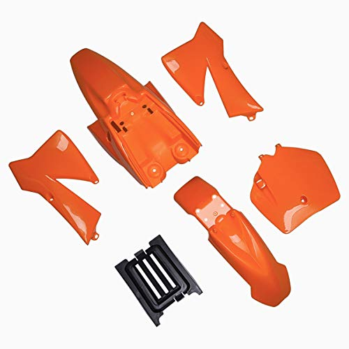 Kit de guardabarros de plástico de repuesto para KTM50 KTM50SX MT50 MTK50 Mini Adventure 2002-2008 KTM 50 SX Junior 50 cc Naranja