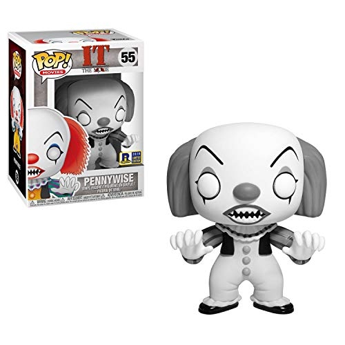 Funko- It Classic-Pennywise Exclusive (Black & White) Other License Figurina, Multicolore, 35158