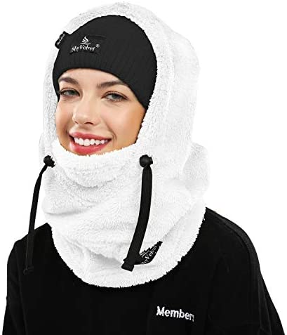 Shy Velvet Balaclava Wind Resistant Winter Face Mask Fleece Cold Weather Ski Mask for Men and product image