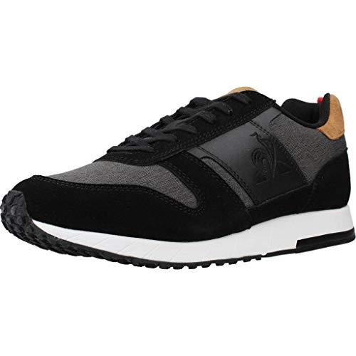 Le Coq Sportif JAZY Classic, Zapatillas para Hombre, Black/Tan, 42 EU