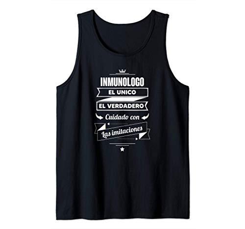 Regalos para INMUNOLOGOS - Inmunologo EL VERDADERO Camiseta sin Mangas